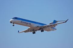Free Estonian Air Canadair Regional Jet CRJ-900 Stock Photography - 51802212