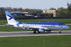 Estonian Air Stock Photo