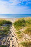 Estonian beach Royalty Free Stock Photos