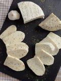 Estonian cheeses Royalty Free Stock Photos