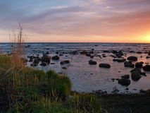 Estonian costal landscape Royalty Free Stock Image