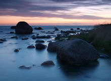 Estonian costal landscape Royalty Free Stock Photography