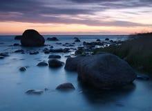 Estonian costal landscape Royalty Free Stock Photography