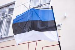 Estonian flag Royalty Free Stock Photos