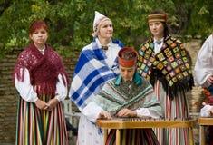 Estonian folk music Stock Photos