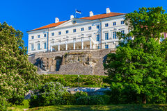 Estonian government building (Stenbock House) in Tallinn Royalty Free Stock Images