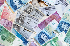 Estonian money Royalty Free Stock Photography