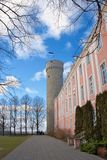 The Estonian parliament stock images