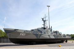 Estonian Patrol Boat EML P421 Stock Photos