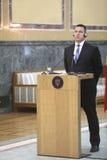 Estonian Prime Minister Juri Ratas Stock Photos
