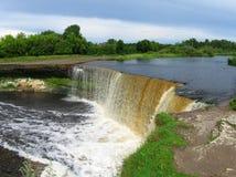 Estonian waterfalls royalty free stock photo