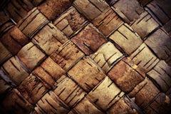 Estopa trenzada fondo de la textura Imágenes de archivo libres de regalías