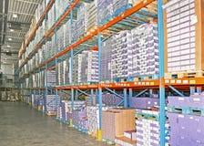 Estoque do armazenamento Foto de Stock