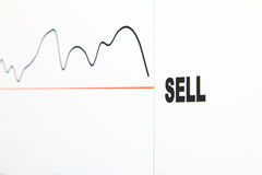 Estoque do Sell Fotos de Stock