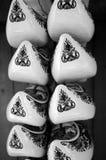 Estorbos adornados Foto de archivo