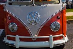 Estored Volkswagen Window Van Royalty Free Stock Images