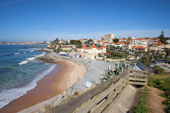 Estoril Beach in Portugal Stock Photography