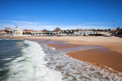 Estoril Beach in Portugal Royalty Free Stock Photos