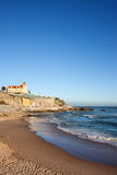 Estoril Beach in Portugal Stock Image