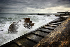 Estoril Coastline Royalty Free Stock Images