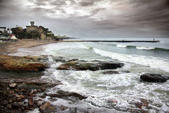 Free Estoril Coastline Royalty Free Stock Images - 13514299