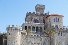 Estoril Forte Da Cruz. Forte Da Cruz castle in Estoril, Portugal stock photo