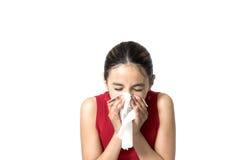 Estornudo Fotografía de archivo