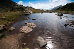 Estortes del ¼ de AigÃ, Andorra Foto de archivo