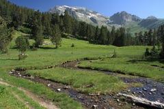 Estos Valley in Aragon Pyrenees Royalty Free Stock Photo