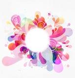 Estouro de cor abstrato Foto de Stock