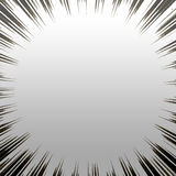 Estouro metálico de Grunge Imagens de Stock