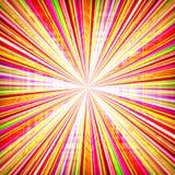 Estouro radial do zoom ilustração do vetor