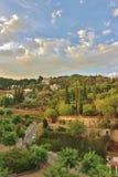 ` Estrac, España de Caldes d Fotografía de archivo libre de regalías