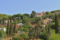 ` Estrac, Spagna di Caldes d Fotografie Stock Libere da Diritti