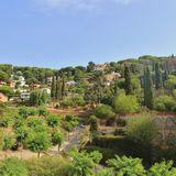 ` Estrac, Spagna di Caldes d Immagine Stock