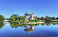 Estrad för St Louis Forest Park Arkivbilder