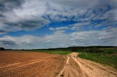 A estrada à casa de campo Mola Fotos de Stock