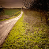 Estrada à infinidade Fotos de Stock