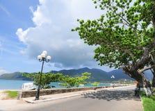 Estrada à montanha na ilha de Dao do engodo Foto de Stock Royalty Free