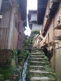 a estrada à vila da nacionalidade do miao na porcelana Fotos de Stock
