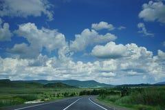 Estrada às nuvens Imagem de Stock