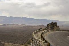 Estrada íngreme da montanha Imagem de Stock