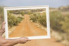 A estrada Foto de Stock