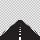 Estrada ilustração do vetor