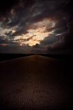 A estrada a Fotografia de Stock