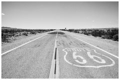 A estrada Fotos de Stock Royalty Free