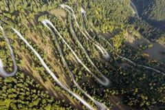 Estrada aérea Fotografia de Stock