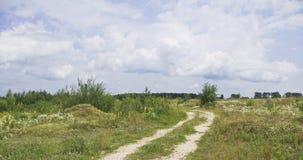 Estrada abandonada Fotografia de Stock Royalty Free