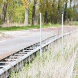 Estrada abandonada nos Países Baixos Fotos de Stock