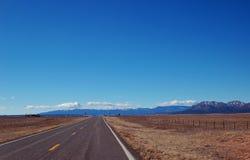 A estrada aberta fotografia de stock